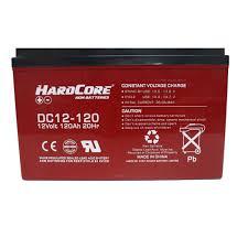 HardCore AGM batteries