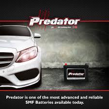 Predator vehicle batteries