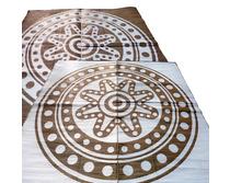 Aboriginal Circle Time Bronze