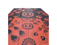 Aboriginal Eco Tracks OrangeBlack