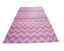 Chevron Pink-Grey