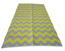 Chevron Yellow-grey