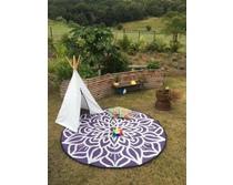 Mandala Ancestoral Connectedness VioletWhite