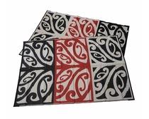 Mangopare design black-white-red