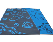 Manta Ray Blue-Black