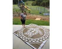 Torres Strait Turtle BronzeBlackWhite