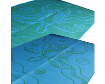 Turtle Journey Green-Blue